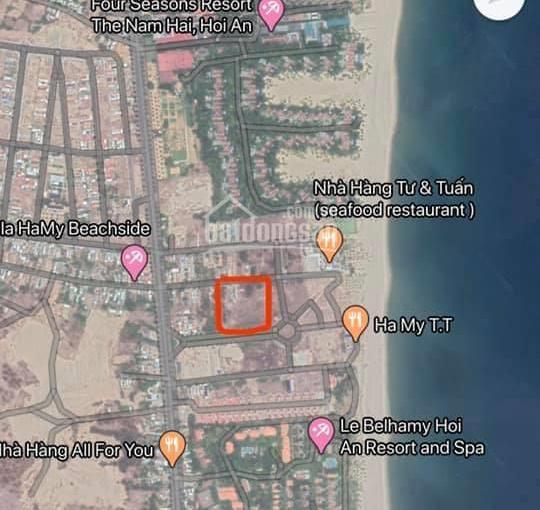 Cần bán lô đất ven biển Hà My, Điện Bàn, Quảng Nam, 4248m2, giá cực tốt 31,5 tr/m2, đất thương mại