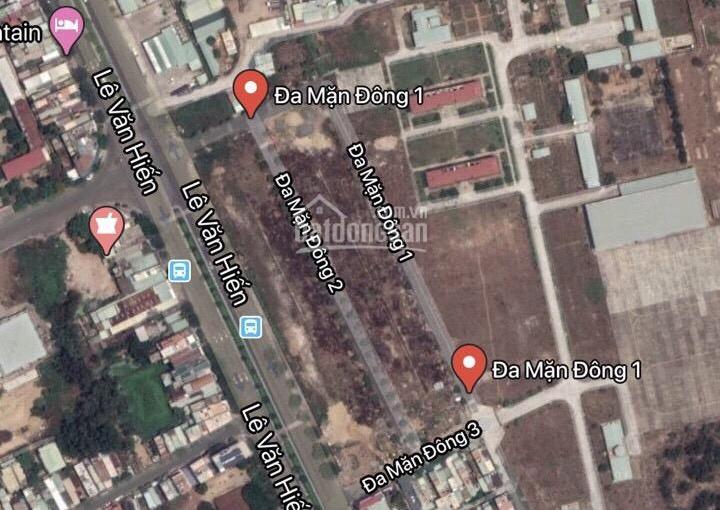 Chính chủ cần bán lô đất Đa Mặn Đông 1, 90m2, đất đã có sổ đỏ khu quân đội, giá 3,4 tỷ. 0935552788