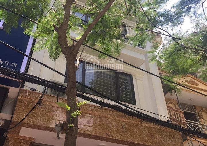 Bán nhà 7 tầng thang máy, MP Hoàng Ngân ngã tư Nguyễn Thị Định, 71m2, 21 tỷ