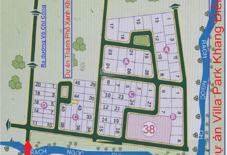 Bán đất dự án Dòng Sông Xanh, P. Phú Hữu, Quận 9, dự án sổ đỏ, giá rẻ, LH 0975.147.109