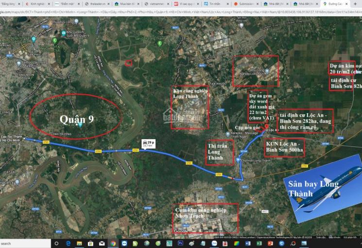 Cần bán cặp nền gốc Lộc An, Long Thành, cách sân bay 4km, cạnh TĐC Lộc An, Bình Sơn, 13 triệu/m2
