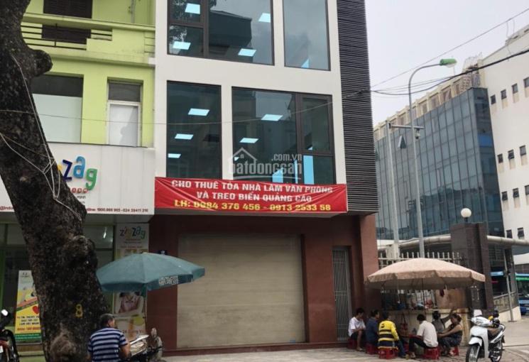 Cho thuê nhà mặt phố Tuệ Tĩnh - gần ngã 4, 100m2, MT 4m, giá 42tr/th riêng biệt, nhà mới 0976686103