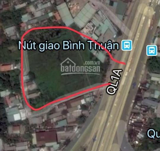 Bán đất mặt tiền QL 1A, Bình Chánh 9.100m2, gía 90 tỷ LH: 0938.70.3545