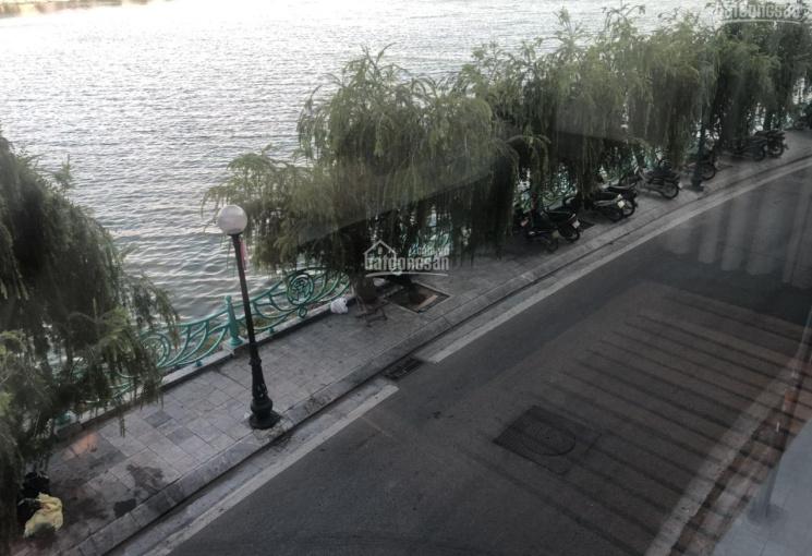 Bán đất 200m2, mặt tiền 15m, mặt phố Quảng An + mặt hồ, vị trí lô góc cực đẹp, giá 90 tỷ