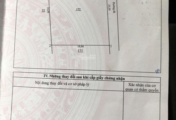 Tôi chính chủ cần bán đất sân bay Long Thành, mặt tiền đường 32m, 505m2, giá 2 tỷ, 0909577072