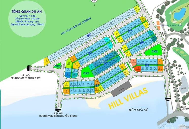 Mở bán đợt I 25 căn khu BT cao cấp Mũi Né Hill Villas sở hữu vĩnh viễn, Lh: 0915998936 Nr. Năng