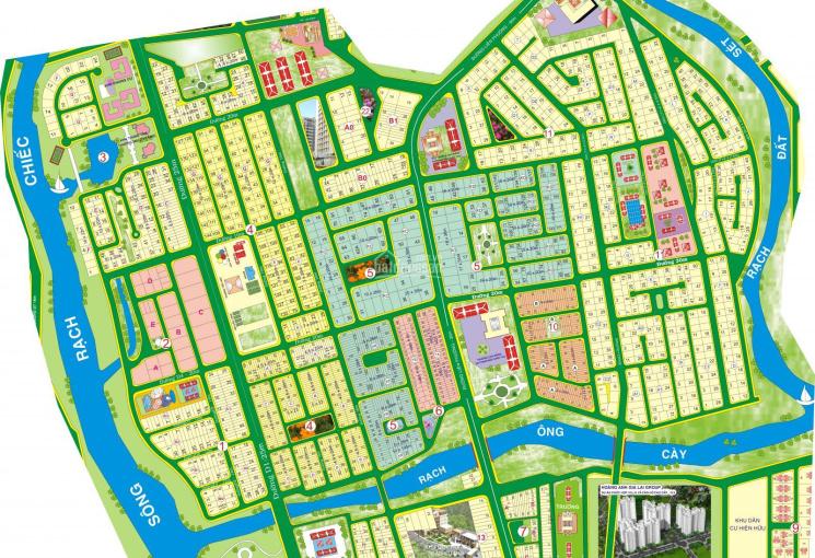 Siêu thị chuyên đất nền dự án Kiến Á, đường Liên Phường, Q9