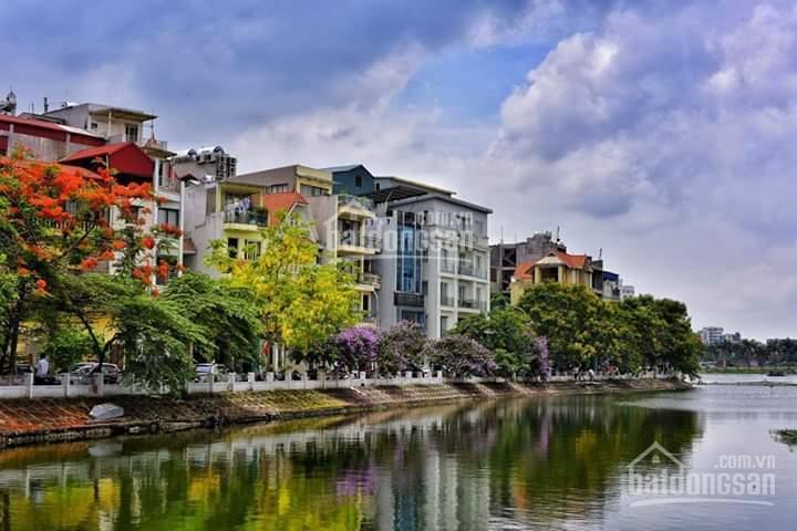 Cần bán tòa nhà 6 tầng tại mặt hồ làng yên phụ , tây hồ