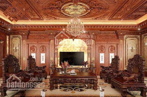 Chính chủ bán biệt thự đơn lập Nguyệt Quế 370m2 hoàn thiện nội thất gỗ tân cổ điển, LH 0981.804.598