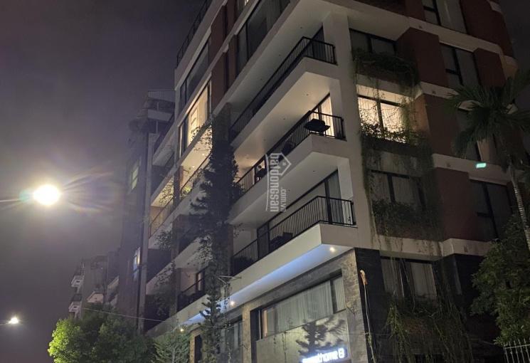 Vỡ nợ bán gấp nhà 8 tầng lô góc, DT 160m2, mặt tiền 12m, mặt đường Tô Ngọc Vân - Tây Hồ - Hà Nội
