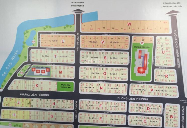 Cần bán nhanh 1 số nền đất KDC Sở văn Hóa Thông tin Quận 9, chuyên dịch vụ đất nền dự án Quận 9
