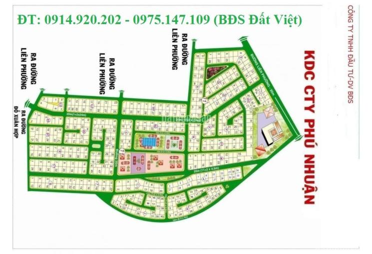 Cần bán nhanh các nền đất dự án Phú Nhuận Quận 9, giá tốt nhất, sổ đỏ, xây biệt thự, LH 0914920202
