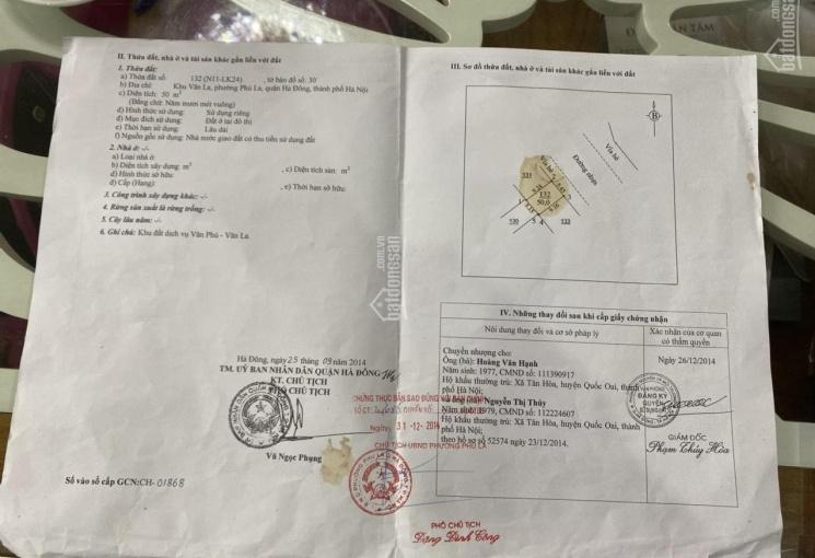 Bán đất dịch vụ cổng đồng La Khê, Hà Đông, Hà Nội