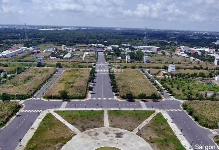 Đất KDC Sài Gòn Village B7, giá bán 1,26tỷ sổ hồng riêng, mua bán nhanh