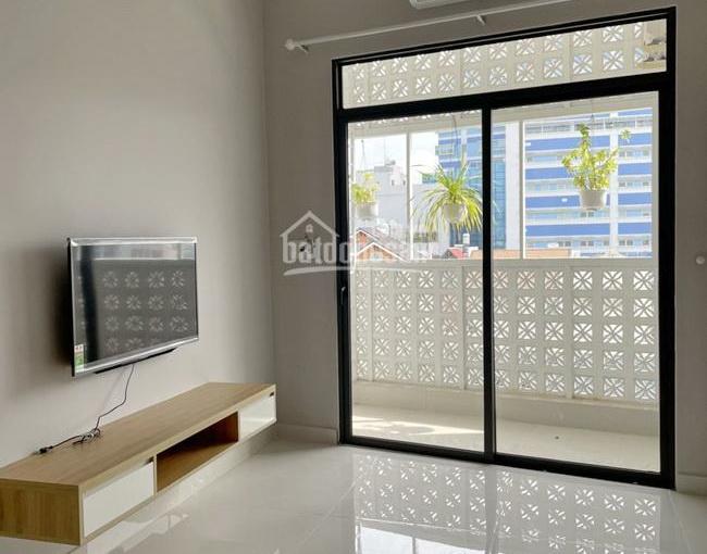 Cho thuê căn hộ dịch vụ cao cấp full nội thất 50m2 đường D1, Phường Tân Hưng, Quận 7