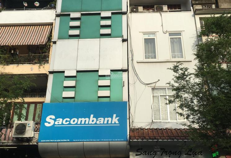 Bán nhà mặt tiền đường Trần Quang Khải, Quận 1, DT 4.1x25m, 96m2, trệt 4 lầu, HD thuê 110tr/m2