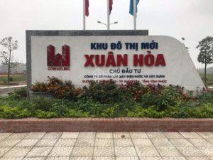 Bán đất KĐT Xuân Hòa, 100m2 đã có sổ đỏ sẵn sang tên, băng 2 đường Lê Quang Đạo. 0986797222