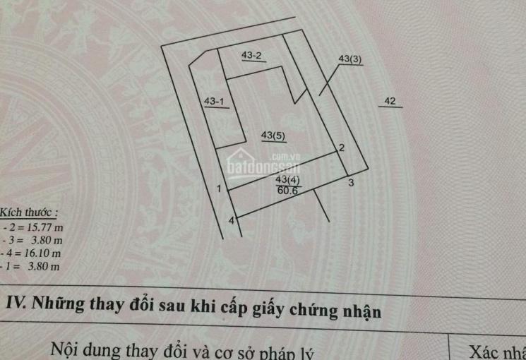 Bán đất phường Ngọc Thuỵ, Long Biên - ngay cổng trường Lý Thường Kiệt
