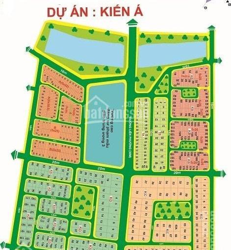 Dự án Kiến Á, Q9, cần bán nhanh nền đất vị trí đẹp, sổ đỏ chính chủ, DT 10x20m, đường 12m