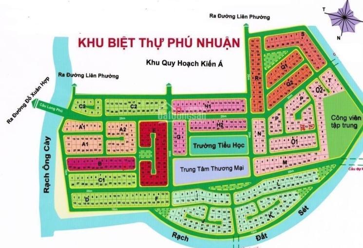 Bán đất dự án Phú Nhuận Phước Long B, Quận 9, giá tháng 07/2021, công ty Đất Việt 0914.920.202