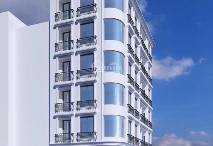 Bán toà nhà Hoàng Quốc Việt 140m2, 7 tầng, thang máy, 15 căn hộ chỉ 33 tỷ