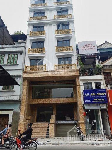 Cần bán tòa nhà mặt phố Đoàn Trần Nghiệp, DT 248m2, MT 9m, xây 8,5 tầng, thang máy