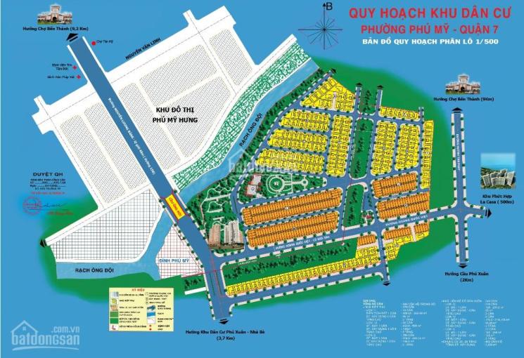 Chỉ còn 1 lô đất biệt thự Phú Mỹ Vạn Phát Hưng giá tốt. 100tr/m2, LH 0986766690