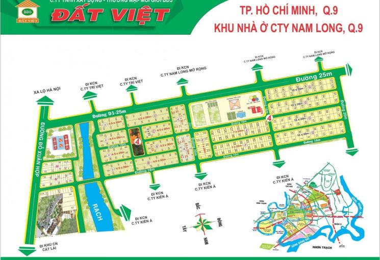 Cần bán rất gấp lô G, KDC Nam Long, Quận 9, DT: 240m2, vị trí đẹp, đường 16m
