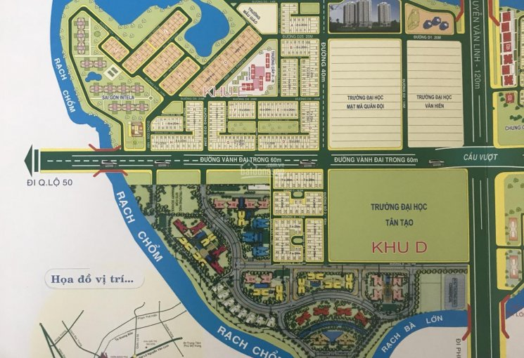 Cần tiền xây nhà bán gấp nền biệt thự 200m2 dự án 13E Intresco đường 12m, giá rẻ