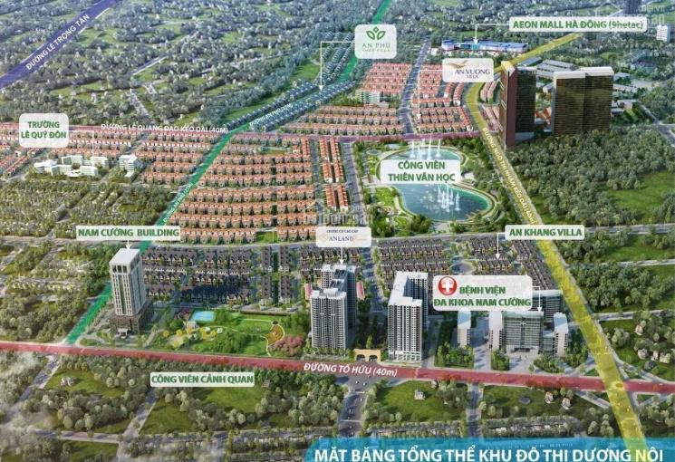 Chính chủ bán cắt lỗ bt An Phú Shop Villa Dương Nội mặt đường 27m đã kinh doanh sầm uất, 0942808686