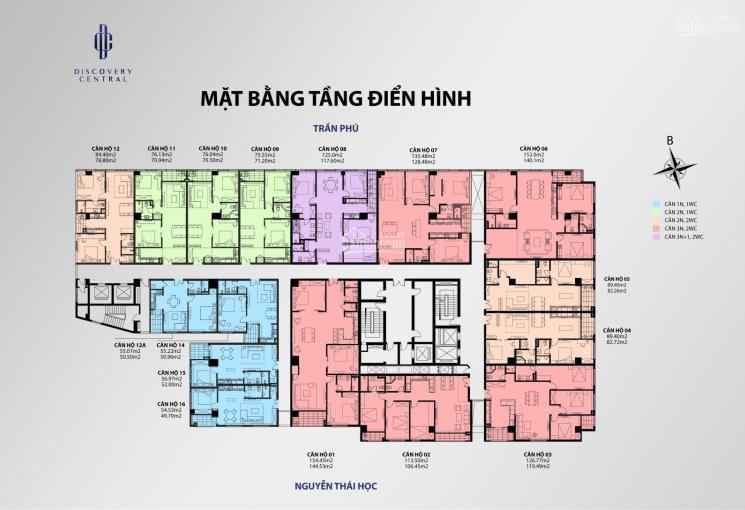Mở bán 5 suất ngoại giao và 130 căn hộ tại dự án Discovery Complex II vị trí 67 Trần Phú