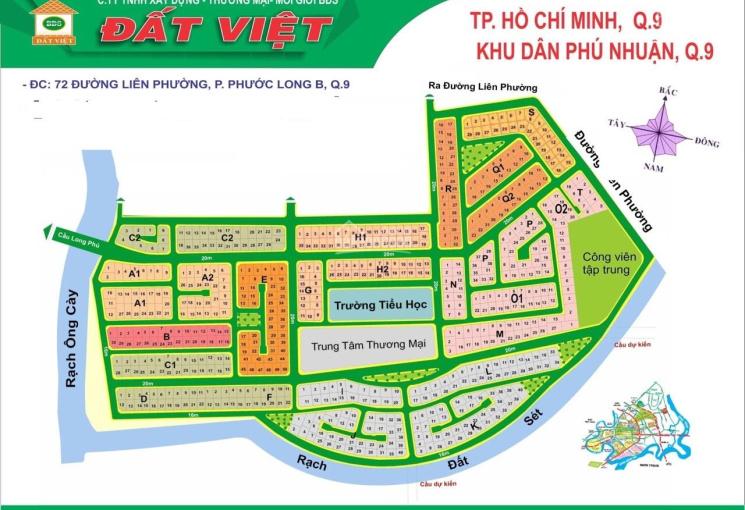 Bán đất nền biệt thự Phú Nhuận, PLB, TP. Thủ Đức, sổ hồng, lô K, DT 17x18m