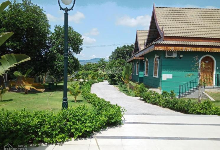 Bán đất tặng nhà 2 mặt đường nhựa 35m con đường hot nhất thị trấn, LH: 0909850538