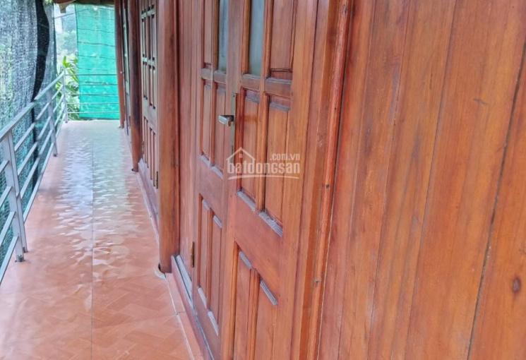 Cần tiền bán gấp 1628 m2 sẵn nhà gỗ 2 tầng bằng gỗ ở Lương Sơn, Hoà Bình giá 2.22 tỷ