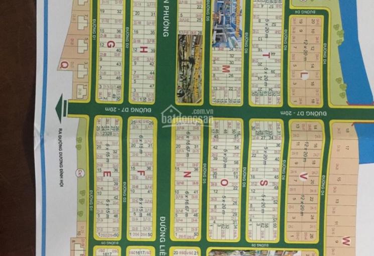 Bán đất nền dự án Sở Văn Hóa đường Liên Phường, Phú Hữu, TP Thủ Đức, sổ đỏ riêng
