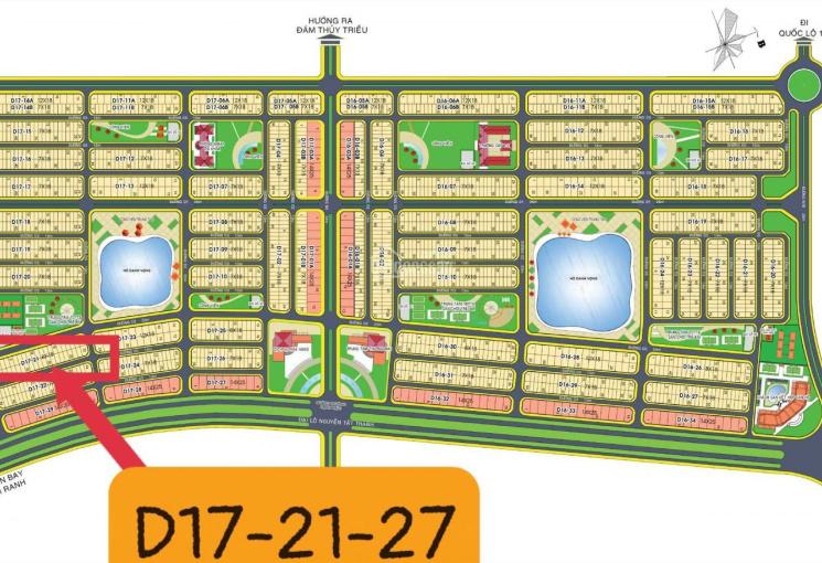 Chính chủ bán nền D17-21 sân tennis khu đô thị Golden Bay Hưng Thịnh
