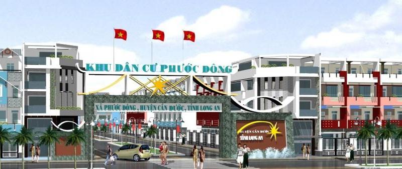 Nhà phố Cầu Cảng Phước Đông