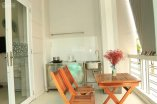 serviced apartment available for rent in district 7 1 bedroom 50m2