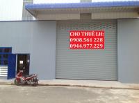 nhà xưởng phường hiệp thành quận 12 cho thuê dt 1700m2 giá 60trtháng lh 0944977229