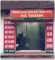 Văn phòng Giao dịch Bất động sản Hà Thành