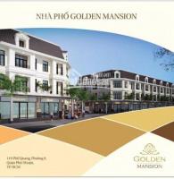 Bán nhà phố thương mại golden mansion 119 phổ quang, quận phú nhuận