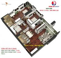 bán căn 132m2 golden land tây tứ trạch ở ngay giá ưu đãi nhất từ 265trm2 lh 0981152882
