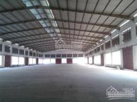 Cho thuê kho xưởng 1500m2, bãi đất trống 5000m2 ở mặt đường số 610 lê thánh tông, giá rẻ