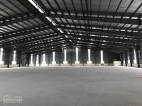 Cho thuê kho xưởng DT: 1150m2, 2250m2, 4500m2 tại KCN Thạch Thất Quốc Oai, Hà Nội