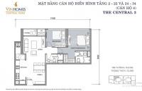 cần cho thuê căn 2 phòng ngủ vinhomes central park giá 185 trtháng 78m2 nội thất cơ bản