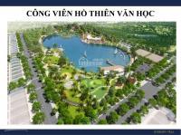 bán suất ngoại giao bt an khang villa nam cường mặt đường 40m đối diện công viên