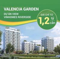 Valencia garden làm hot thị trường bđs phía đông ngập tràn quà tặng ưu đãi lên tới 100triệu