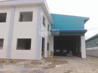 Cần cho thuê xưởng mới trong kcn tân đức. dt 51 x 100m, giá 160tr/th