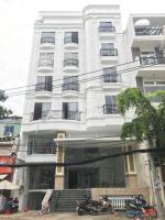 Cho thuê tòa nhà mới xây dựng thiết kết 45 căn hộ khách sạn, đường Hồng Hà, Quận Tân Bình. 10x25m