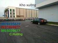 Cho thuê kho 3000m2, xe công 40f vào được, ở gần khu công nghiệp vĩnh lộc, giá 90 ngàn/ 1m2